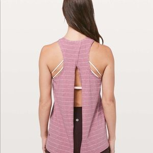 Lululemon Pink All Tied Up Tank